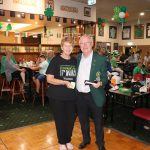 St Pats Day Raffle Winner - Margaret Butterfield